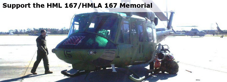 Support the HML 167/HMLA 167 memorial